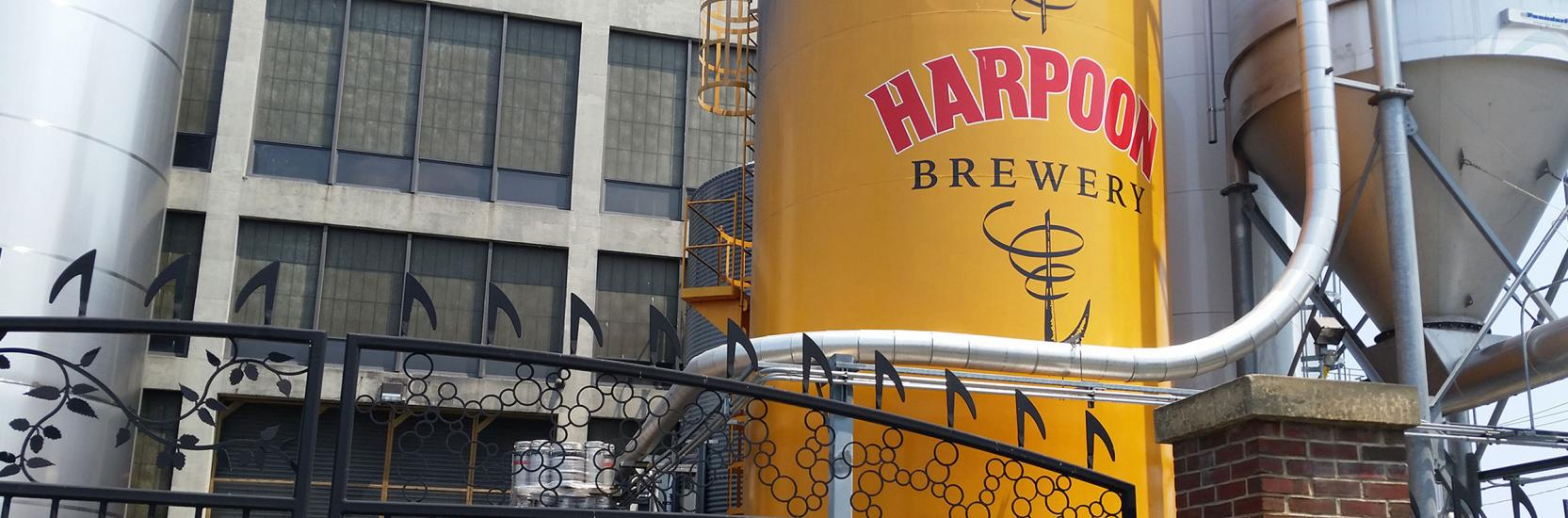 Harpoon Brewery, proudly employee-owned since 1992.